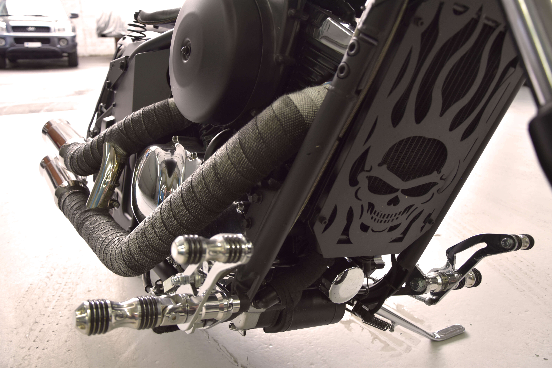 Motorrad Umbau